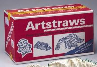 6mm Long Artstraws 900 pcs CK-9031