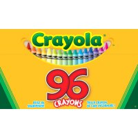 96 Crayola Crayons  Pack of 12 A26-520096