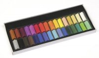 Half-Stick Square Artist Pastels - 32 Color Set 9725