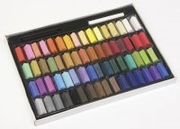 Half-Stick Square Artist Pastels - 64 Color Set CK-9726