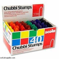 Chubby Crayons Box of 40 Pcs FS-97700