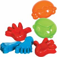 Essential Sand and Water Tools - Sand Moulds A00685