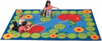 "ABC Caterpillar Rug - Medium Size 5'10"" x 8'4"" Rectangle CK-2200"