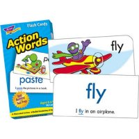 Action Words Flash Cards (B56-53013)
