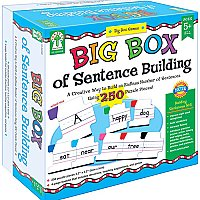 Ages 5+ Big Box of Sentence Building (A15-KE840008)