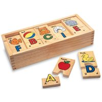 Alphabet Puzzle Blocks C19-8603
