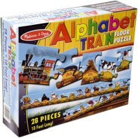 Alphabet Train Floor Puzzle D54-424