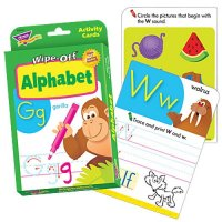 Alphabet Wipe Off Activity Cards (B56-28101)
