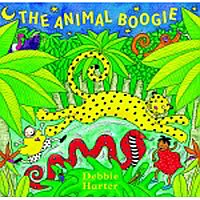 Animal Boogie Book & CD I23-9781846866203