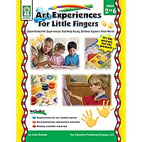 Art Experiences For Little Fingers CD-KE804001
