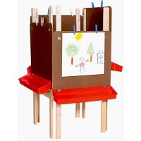 Art workspace For 4 Students with Markerboard WD-19125
