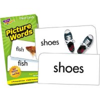 Basic Picture Words Flash Cards (B56-53004)