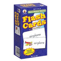 Basic Picture Words Flash Cards (A15-3908)