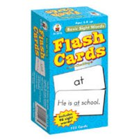 Basic Sight Words Flash Cards (A15-3910)