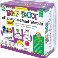 Big Box of Easy-to-Read Words Game A15-KE840011