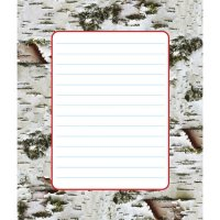 Birch Bark Discovery Note Pad B56-72407