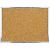 "Aluminum Framed Cork Boards 48"" x 96 735148"
