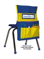 Chairback Buddies Blue/Yellow [CD158036]