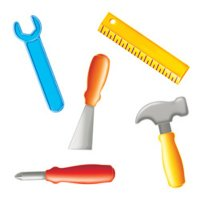 Designer Cut-Outs Variety Pack Handy Helpers Tools [CTP1794]