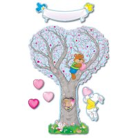 Caring Heart Tree Bulletin Board Set A15-3445