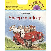 Carry Along Book & CD, Sheep in a Jeep