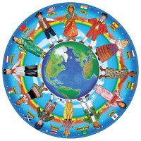 Children Around The World Floor Puzzle D54-22866