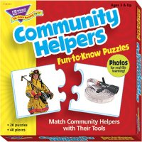 Community Helpers Fun To Know Puzzles B56-36011