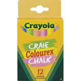 Crayola Coloured Chalk 12 pcs A26-510812