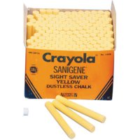 Crayola Yellow Chalk 144 pcs A26-511408