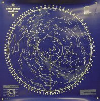 Star Chart, Wall, North & South Sky Grades:6 -12 AEP- 400