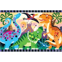 Dinosaur Dawn Floor Puzzle 24 pcs D54-24425