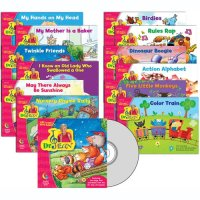 Dr. Jean Lap Book Variety Pack, 12 books