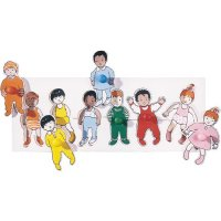 Dressing Toddlers Wood Puzzle B31-WT324