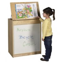 Big Book Display and Storage - Dry Erase Board ELR-0690