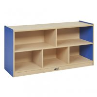 "Colorful Essentials 24""H Storage Cabinet 5 Comp BLUE ELR-0711-BL"