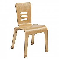 "Bentwood 16"" Chair - Natural ELR-15716-NT"