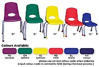 "14""Stackable School Chair  ELR0194"