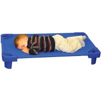 Stackable Toddler Kiddie Cot™, Assembled, Single ELR02315