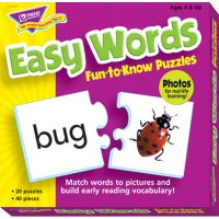 Easy Words Fun To Know Puzzles B56-36007