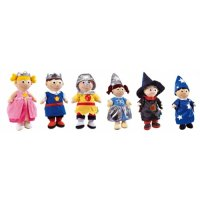 Fairy Tales Dolls Set Of 6 A07-23763