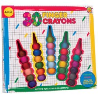 Finger Crayons 30 pcs by Alex G44-24830