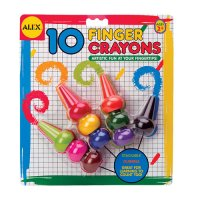 Finger Crayons by Alex G44-248