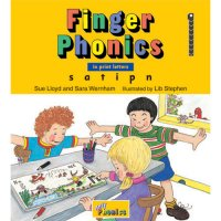 Finger Phonics Book 1 in Print Letters (E71-454)