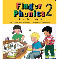 Finger Phonics Book 2 in Print Letters (E71-462)