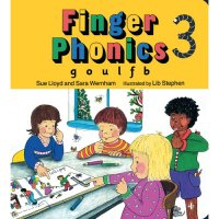 Finger Phonics Book 3 in Print Letters (E71-470)