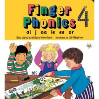 Finger Phonics Book 4 in Print Letters (E71-489)