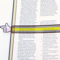 Finger Pointer Reading Strips (B38-5902)