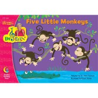 Five Little Monkeys Sing Along & Read Along With Dr Jean