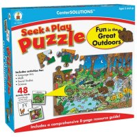 Fun in the Great Outdoors Seek and Play Puzzle A15-140304