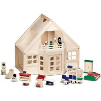 Furnished Dollhouse by Melissa & Doug D54-795